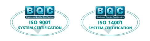 Certificazione 3 F srl - ISO9001-ISO14001